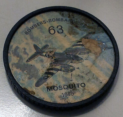 Vintage Jell-O / Hostess Collectors Airplane Bombers Coins - Mosquito (1940)