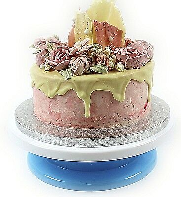"NEW Cake Decorating Turntable 11"" Rotating Stand Display Icing Baking Birthday"