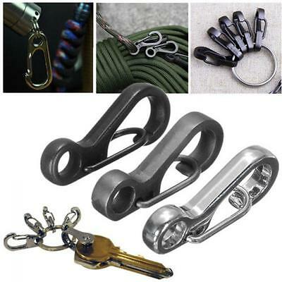 2PCS  Spring Snap SF Keychain Hook Carabiner Hanging Buckle