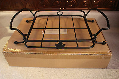 Longaberger Wrought iron 8x8 carrier / PRICE REDUCED!!!