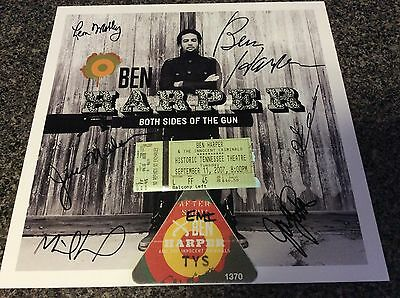 BEN HARPER signed by all band autographed jam jack Johnson innocent criminals +