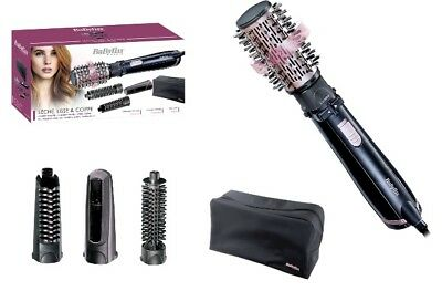 Babyliss 2736E BeLiss Brushing Rotating Brush 4 Attachments Brand New in Box