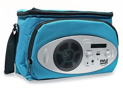 Pyle PSCL28BL Cooler Bag with Built in AM/FM Radio