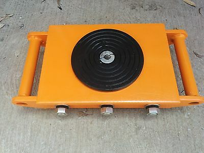 Industrial Skate 8 tonnes Heavy Roller Machinery Mover Cargo Trolley