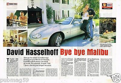 Coupure de Presse Clipping 1999 (2 pages) David Hasselhoff