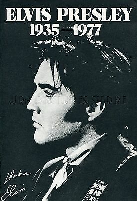 ELVIS PRESLEY 1977 JPN PICTURE CLIPPINGS 4-Sheets(7-Pages) #TH/P