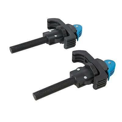 2Pce Workbench Clamps Woodworking Bench Vice Workmate Quick Release