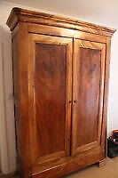 Antique French Armoire Louis Philip style