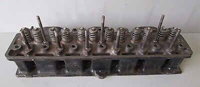 Triumph TR250 Early TR6  Cylinder Head #307837  Clean And Nice-Guaranteed