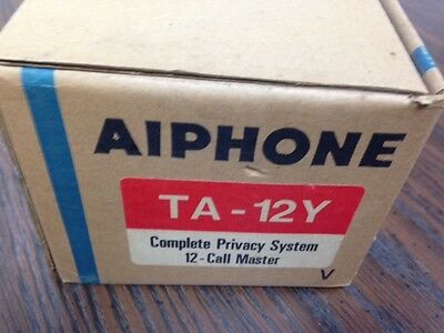 Aiphone TA-12Y 12-Call Privacy Handset Intercom NEW