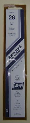 Showgard size 28 black hingeless stamp mount NEW unopened pack 1st quality 215mm