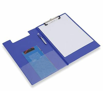A4 , A5 Black Clipboard Solid Fold-Over New Office Document Holder Filling