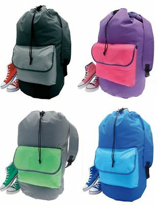 laundry Backpack Duffel Bag . The Easy Way to Store and Carry all your laundry