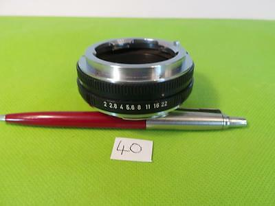 Minty Leica 14127 Leica M Lens To Leica R Body Leica M To R Adapter/viso Adapter