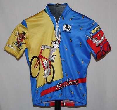 Giordana Warner Bothers Bugs Bunny, Daffy Duck Bike Cycling Race Jersey Youth M