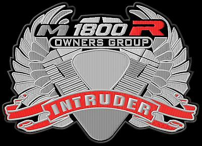 Suzuki Intruder M1800R Owners Group XL Aufnäher iron-on patch