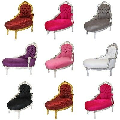 France Baroque Style Children Chaise Lounge