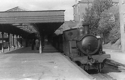 PHOTOGRAPH LONDONDERRY DERRY WATERSIDE RAILWAY STATION of 1950s PHOTO