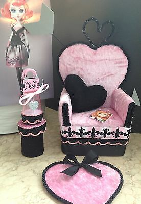 ✪monsters@home✪ Sessel Couch für Monster High Ever After Puppen✪z.B. Cupid ✪BjD