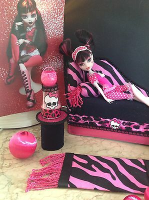 %SALE%✪monsters@home✪Daybed Couch f Monster High Puppen✪z.B. Draculaura ✪