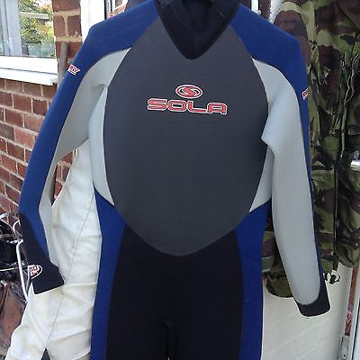 Sola Thermo Tech Wetsuit Energy Thermal Ss1 Skin Size Lge Uk42 Eu52