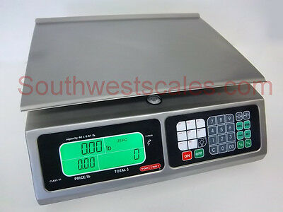 Torrey LPC-40, 40 x .01 lb Price Computing Deli Meat Digital Scale All Stainless