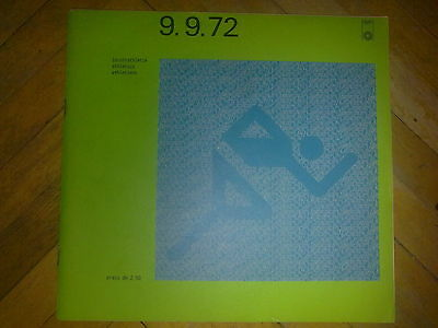 Programme Olympic Games MÜNCHEN 1972 - ATHLETICS 9.09.1972
