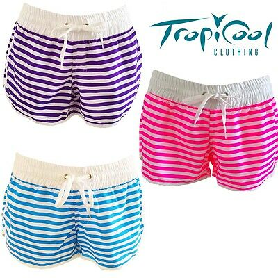 Girls Board Shorts Summer Beach Cruise