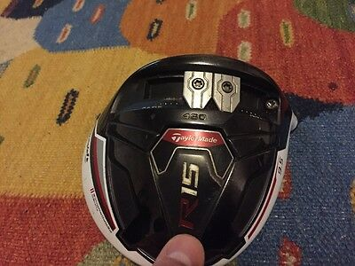 TaylorMade R15 460cc 9.5 Driver Head only