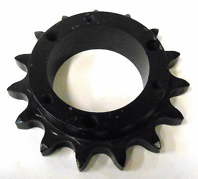 "Unknown Brand Roller Chain Sprocket 80Sk15, 15 Teeth, 1"" Pitch, 5 1/4"" Od"
