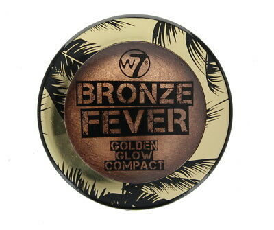 W7 Bronze Fever Golden Glow Baked Powder Compact