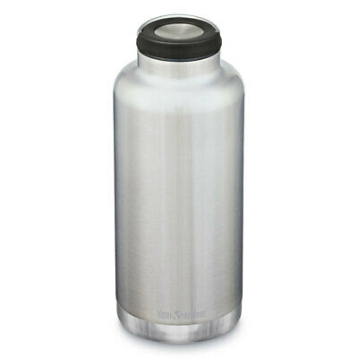 New KLEAN KANTEEN 64oz 1900ml Insulated Classic STAINLESS Water Bottle BPA Free