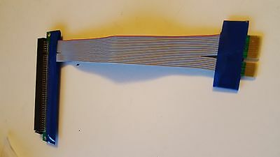 PCI-Express x1 to x16 riser card extension adaper cable