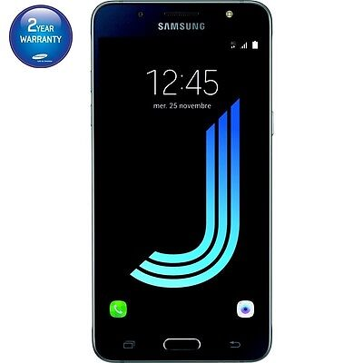 Brand New Sealed Samsung Galaxy J5 2016 J510F/DS Dual Sim 4G 16GB Unlocked Black