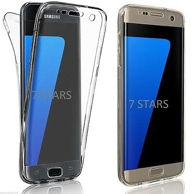 New ShockProof Hybrid 360 TPU Case Cover For Samsung Galaxy S7 edge S8 S9 Plus