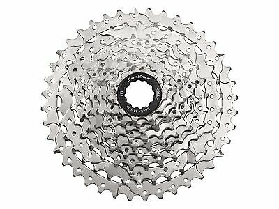 Sunrace 9-speed cassette 11-40T CSM990 Wide ratio in Silver