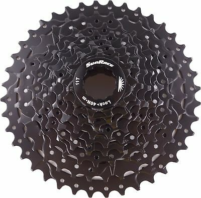 Sunrace 9-speed cassette 11-40T CSM990 Wide ratio in Black