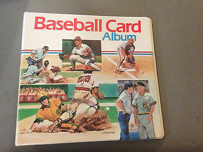 Vintage 1989 Baseball Card 3 Ring Binder Brand New And Rare