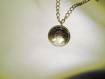 Antique Golden Cedar of Lebanon necklace-nicely domed!