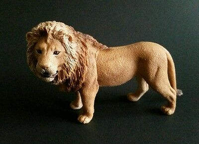 Schleich Lion Lifelike Toy Wild Life Model 2007 3.75 Inch Figure 14373