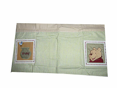 Disney Winnie The Pooh Playful Pooh Appliqued Window Valance