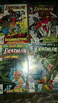 Deathlok comic lot of 4