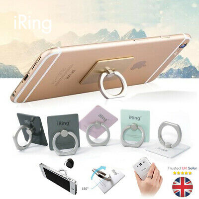 iRing Finger Grip Ring Phone Stand Holder Mount Mobile For iPhone 6 7 iPad HTC