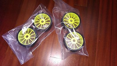 Ruedas Grp Rally Game M01 Ss Tires 1/8 On Road Competicion Pista Motor Tyres Os
