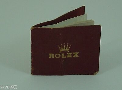 """Genuine Rolex """"Oyster"""" and """"Oyster"""" Perpetual booklet rare early 1930s"""