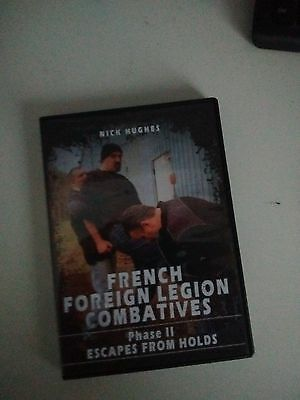 french foreign legion combatives dvd escape from holds