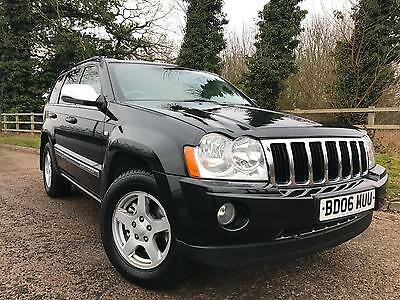 2006/06 Jeep Grand Cherokee 3.0Crd V6 Auto Limited
