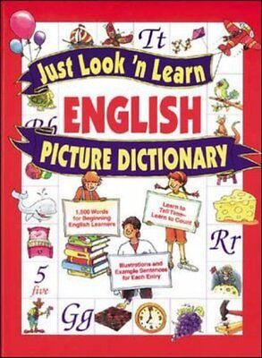 Just Look 'n Learn English Picture Di by Daniel J. Hochstatter New Hardback Book