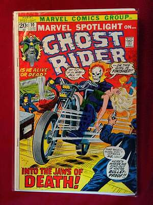 Marvel Spotlight 10 Ghost Rider VG/F 5.0 In the Jaws of Death 1973