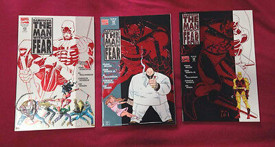 Daredevil the man without fear #3 #4 and #5 Marvel Frank Miller John, Romita jr.
